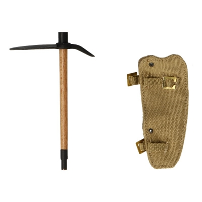 Diecast M37 Entrenching Tool with Sheath (Black)
