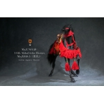 Akhal-Teke Horse with Accessories Set (Black)
