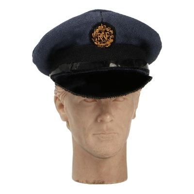Royal Air Force Commissioned Officer Visor Cap (Blue)