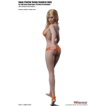Caucasian Suntan Female Super Flexible Seamless Body (Middle Bust)
