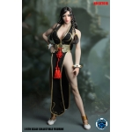 Female Asian Street Warrior Set (Black)