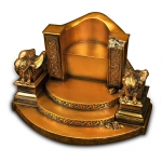 Odin Throne (Gold)