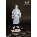 Male Isolation Gown Set (Blue)