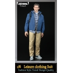 Leisure Clothing Suit Set (Blue)