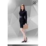 Office Lady Female Suit Set (Blue)