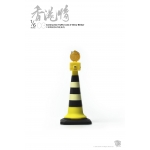 Construction Traffic Cone with LED Light Up Blinker (Yellow)
