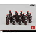 Soda Bottles Set (Red)