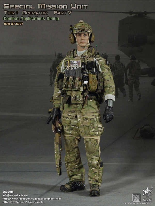 SMU Tier 1 Operator Part V - Combat Application Group Breacher