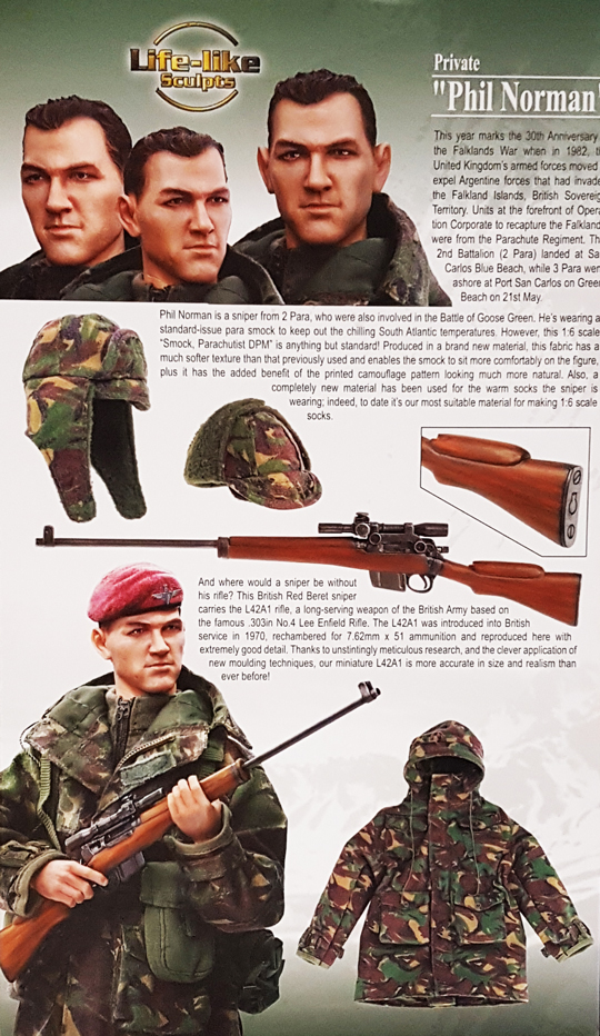 DRAGON 1//6TH SCALE MODERN BRITISH SNIPER BERET FROM PHIL NORMAN